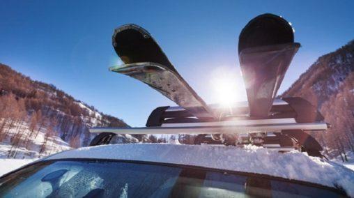 Držákům na lyže na auto